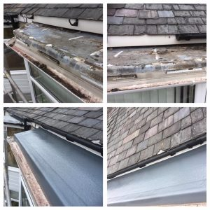 GRP Fibre Glass Flat Bedroom Bay Roof