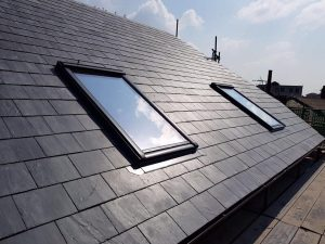 Re Slate with New Velux Windows